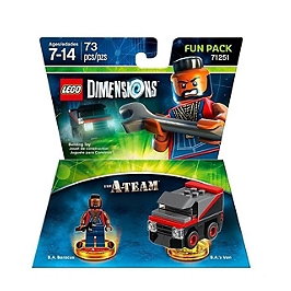 LEGO dimensions - pack héros - l'agence tous risques (A-Team)