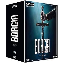 Coffret intégrale Borgia, saisons 1 à 3, Dvd