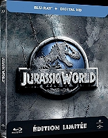 Jurassic world en Blu-ray