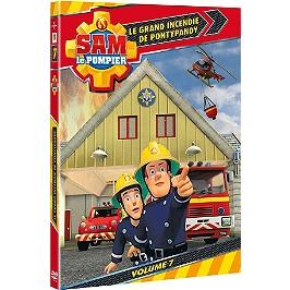 Sam le pompier, vol. 7 : grand incendie de Pontypandy, Dvd