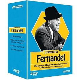 Coffret l'essentiel de Fernandel 4 films, Dvd