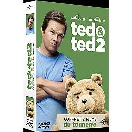 Coffret Ted 1 et 2, Dvd