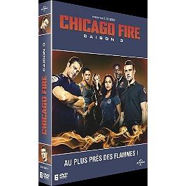 Coffret Chicago fire, saison 3, Dvd