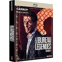 Coffret le bureau des légendes, saison 2, Blu-ray