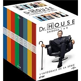 Coffret intégrale dr House, saisons 1 à 8, Dvd