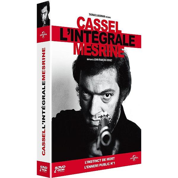 ad6074f1d Dvd - Coffret intégrale Mesrine 2 films   l instinct de mort   l ...