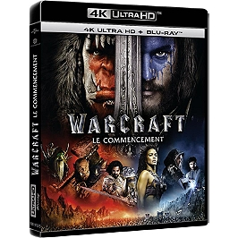 Warcraft : le commencement, Blu-ray 4K