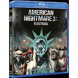 American nightmare 3 : élections, Blu-ray