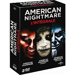 Coffret American nightmare 3 films : american nightmare ; anarchy ; élections, Dvd