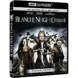 Blanche-Neige et le chasseur, Blu-ray 4K