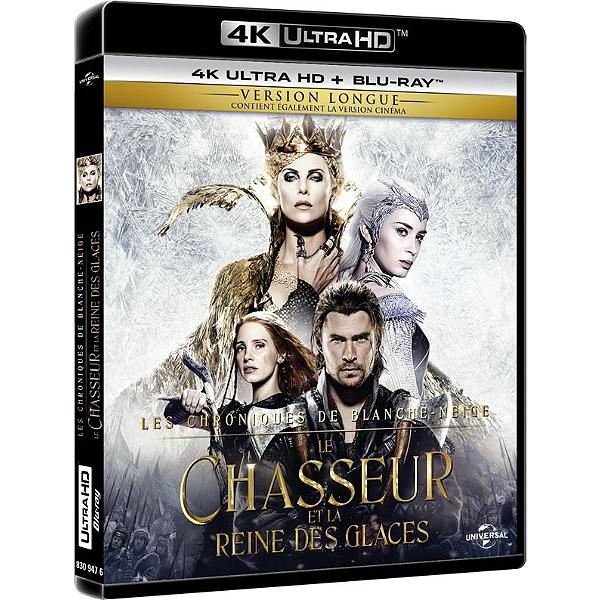 Blu Ray 4k Le Chasseur Et La Reine Des Glaces Espace Culturel E Leclerc