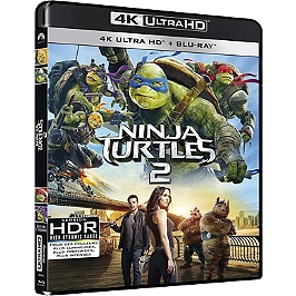 Ninja turtles 2, Blu-ray 4K