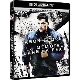 Jason Bourne 1 : la mémoire dans la peau, Blu-ray 4K