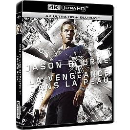 Jason Bourne 3 : la vengeance dans la peau, Blu-ray 4K