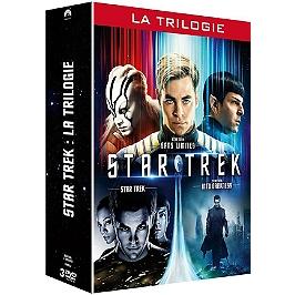 Star trek la trilogie : star trek ; into darkness ; sans limites, Dvd