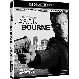 Jason Bourne, Blu-ray 4K