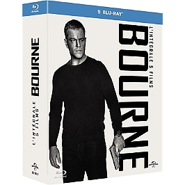 Coffret Jason Bourne 5 films, Blu-ray