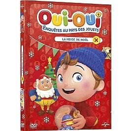 Oui-Oui enquêtes au pays des jouets, vol. 3 : la neige de Noël, Dvd