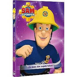 Sam le pompier, vol. 12 : le choc des super héros, Dvd