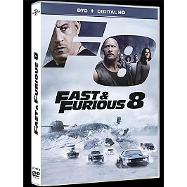 Fast and furious 8, Dvd