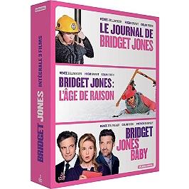Coffret Bridget Jones 3 films : le journal de Bridget Jones ; l'âge de raison ; Bridget Jones baby, Dvd