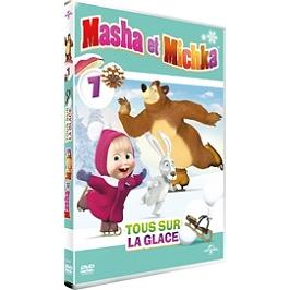 Masha et Michka, vol. 7 : tous sur la glace, Dvd