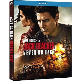 Jack Reacher 2 : never go back, Blu-ray