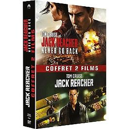 Coffret Jack Reacher 2 films : Jack Reacher ; never go back, Dvd