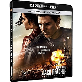 Jack Reacher 2 : never go back, Blu-ray 4K