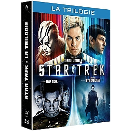 Coffret star trek 3 films : star strek ; into darkness ; sans limites, Blu-ray