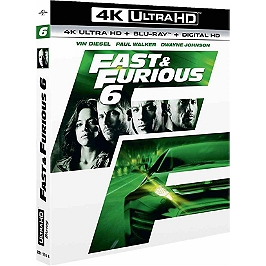 Fast and furious 6, Blu-ray 4K
