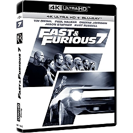 Fast and furious 7, Blu-ray 4K