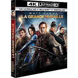 La grande muraille, Blu-ray 4K