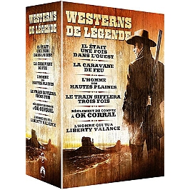 Coffret western 6 films, Dvd