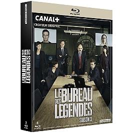 Coffret le bureau des légendes, saison 3, Blu-ray
