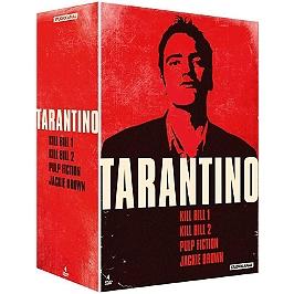 Coffret Quentin Tarantino 4 films, Dvd