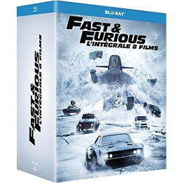 Coffret fast and furious 8 films, Blu-ray