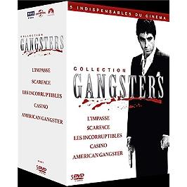 Coffret gangsters 5 films, Dvd