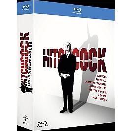 Coffret Hitchcock, les indispensables 7 films, Blu-ray