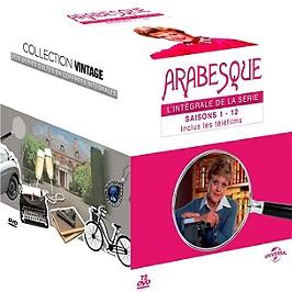 Coffret intégrale arabesque, saisons 1 à 12 + 4 téléfilms, Dvd