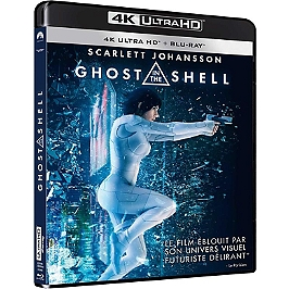 Ghost in the shell, Blu-ray 4K