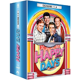 Coffret happy days, saisons 1 à 4, Dvd