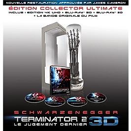 Terminator 2 : le jugement dernier, édition collector, Blu-ray 4K