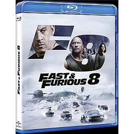 Fast and furious 8, Blu-ray