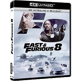 Fast and furious 8, Blu-ray 4K
