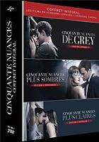 Coffret cinquante nuances 3 films : de Grey ; plus sombres ; plus claires en Dvd