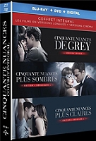 Coffret cinquante nuances 3 films en Blu-ray