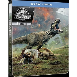Jurassic World 2 : fallen kingdom, Steelbook, Blu-ray