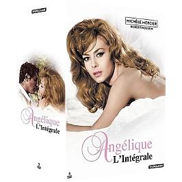 Coffret intégrale Angélique 5 films, Dvd