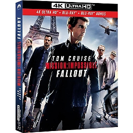 Mission impossible 6 : fallout, Blu-ray 4K